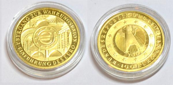 Deutschland-Waehrungsunion-100-Euro-Goldmuenze-15_55Gramm-Feingold-9999