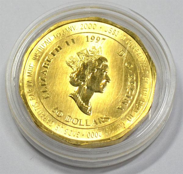 Kanada-Canada-50-Gold-Dollar-Mounted Police-Sonderprägung-1-oz-Feingold-9999