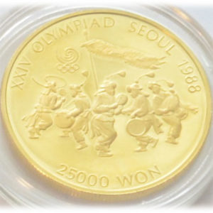 Republik Suedkorea 25000 Won 1_2oz Gold 15,55g Feingold