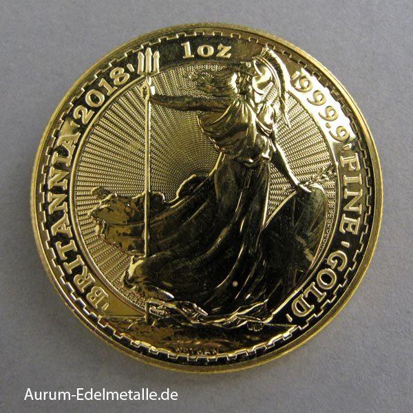England Britannia 100 Pounds Goldmünze 1 oz