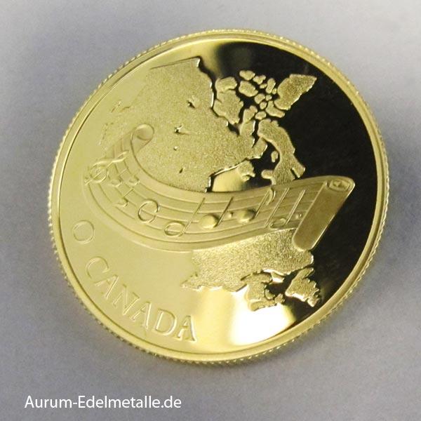 Goldmünze 100 Dollars 1981 O Canada