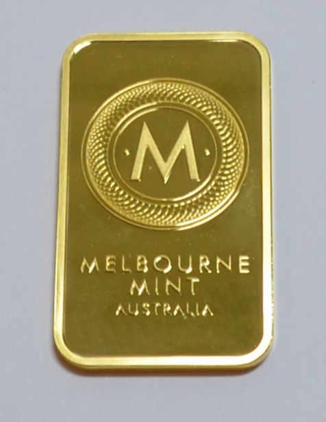 Melbourne Mint Australia 1oz 9999 Feingoldbarren