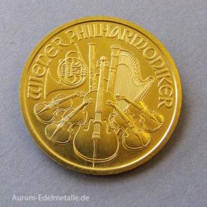Österreich Wiener Philharmoniker 1000 Schilling Gold 1_2 Unze Feingold