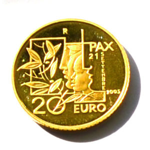 Republik San Marino 20 Euro Gold