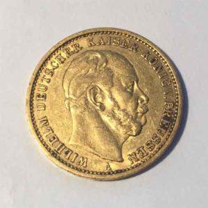 Deutsches-Reich-20-Mark-1874-Wilhelm-Deutscher-Kaiser-u.-Koenig-v.-Preussen-1874