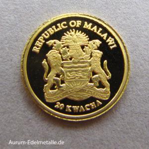 Malawi 99999 Goldmünze ½ Gramm Jubiläum Krügerrand