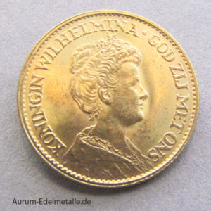 Niederlande 10 GNiederlande 10 Gulden Königin Wilhelmina Goldmünzeulden Goldmünzen Königin Wilhelminaa10 Gulden Wilhelmina Niederlande Goldmünze