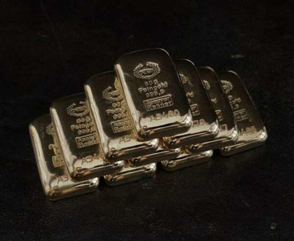 50 Gramm Goldbarren 9999 NES