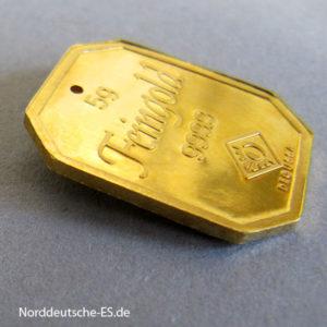 Goldbarren 5 Gramm Feingold 9999 zum Anhängen