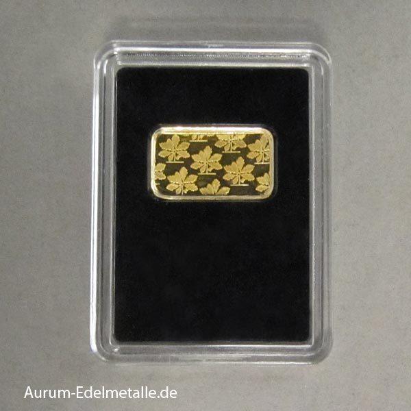Goldbarren Brandenburger Tor 225 Jahre