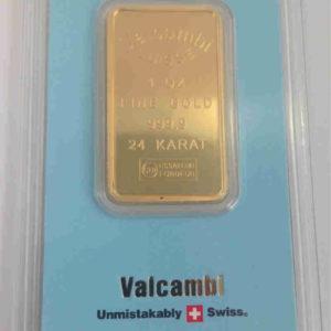 Goldbarren Valcambi 1 Unze