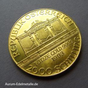 Österreich Wiener Philharmoniker 2000 Schilling