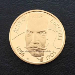 Finnland 100 Euro Goldmuenze 2004 Edelfelt
