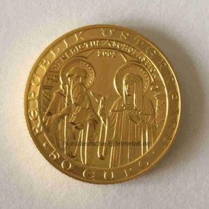 Oesterreich 50 Euro Benedictus ScholasticaOesterreich 50 Euro Benedictus Scholastica Gold