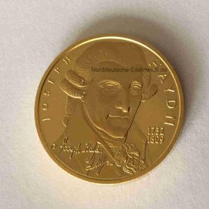 Oesterreich 50 Euro Goldmuenze Haydn 2004