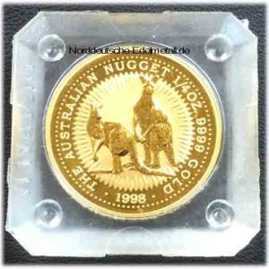 Australien Nugget 1_4 oz Gold 9999