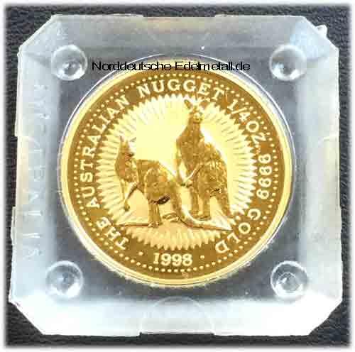 Australien Nugget 1_4 oz Gold 9999