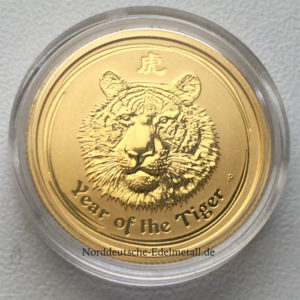 Australien Year of the Tiger 2010 Gold