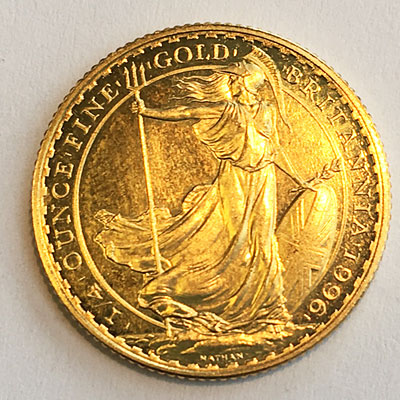 England Britannia 25 Pounds 1_4 oz Goldmuenze 9999
