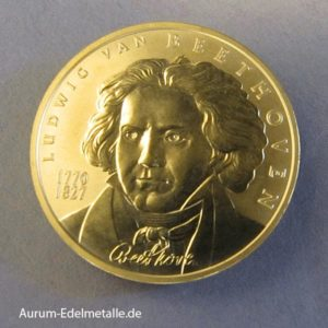 Goldmünze 50 Euro Beethoven 2005