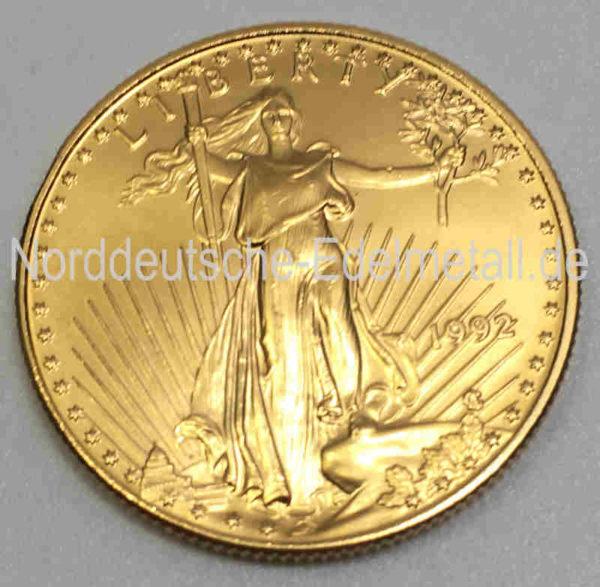 USA Eagle 25 Dollars 1_2oz Feingold 9999