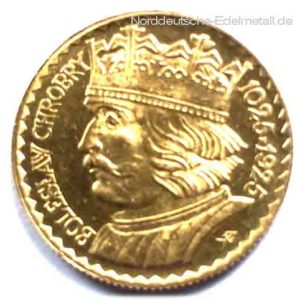 Polen 20 Zloty Gold