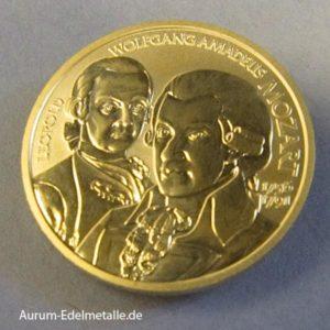 Österreich 50 Euro Mozart 2006