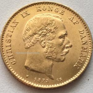 Daenemark-20-Kronen-Christian-IX-1872-Goldmuenze-