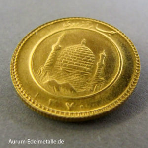 Persien 1_2 Azadi Goldmünze Iran