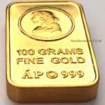 Ungarn Goldbarren 100g Feingold 9999 Hunyadi Matyas