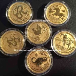 Australien Lunar 1_4oz Feingold 9999 Year of the