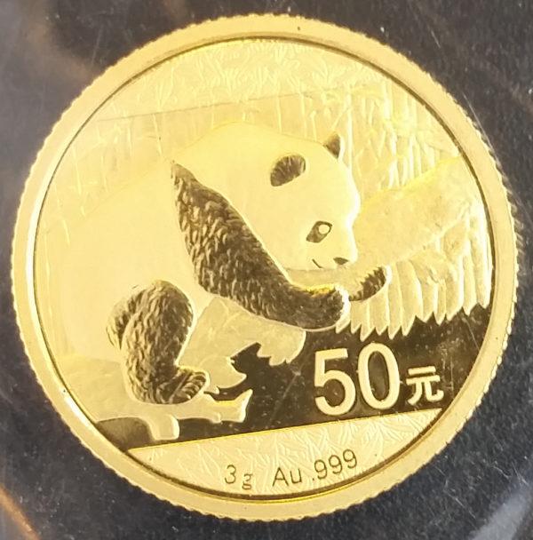 China Panda 50 Yuan 3g Feingold