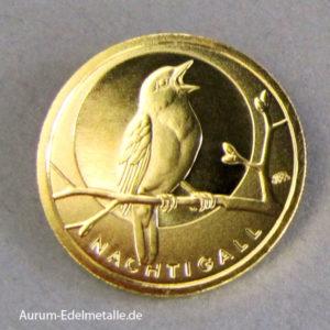 Deutschland 20 Euro Nachtigall 2016 Goldmünze