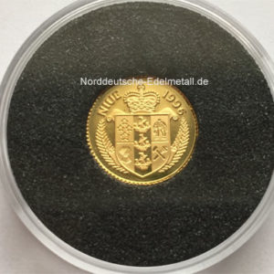 Goldmuenze 1_25 oz Feingold 999 Niue 25 Dollars