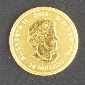 Kanada 20 Dollars Queen Elizabeth 1_10 oz Feingold 2014