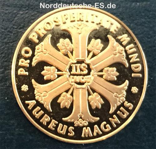 Aureus Magnus IIS DUKAT Hamburgum Portus Mundi