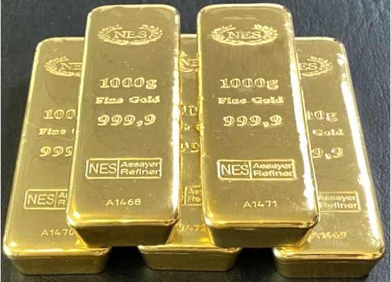 1Kg Goldbarren 9999 NES