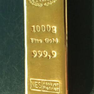 Goldbarren 999,9 NES 1 Kilogramm