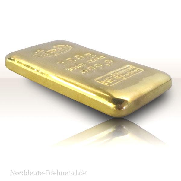250g-goldbarren-9999-Norddeutsche-Edelmetall, Norderstedt
