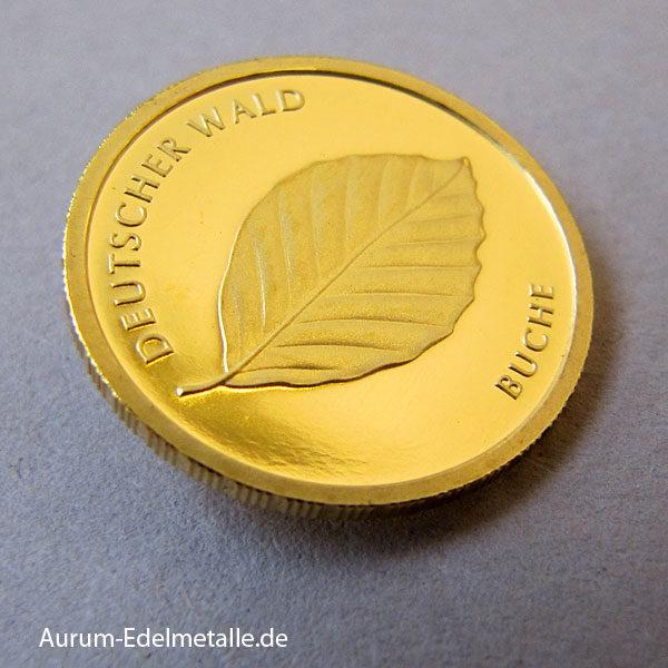 Deutschland 20 Euro Gold Buche Deutscher Wald 2011