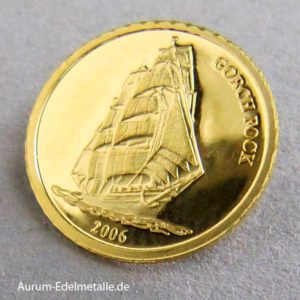 Republic of Liberia 10 Dollars 2006 Gorch Fock