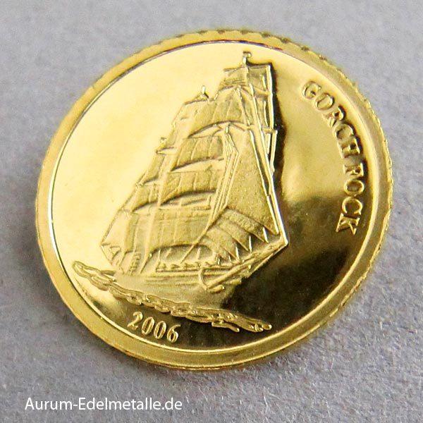 Republic of Liberia 10 Dollars 2006 Gorch Fock