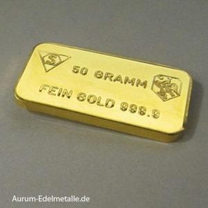 Gebrauchte Goldbarren