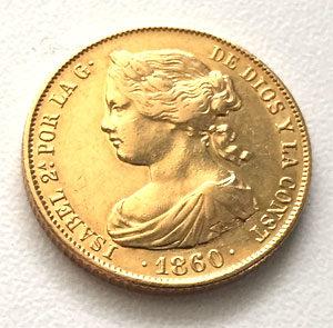 Spanien Goldmünze 100 Reales