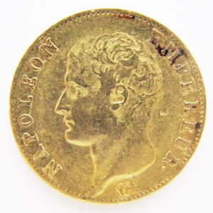 20 Franken Frankreich Napoleon Kaiser 1806 Goldmünze