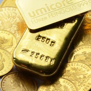 Shop für Goldbarren und Goldmünzen