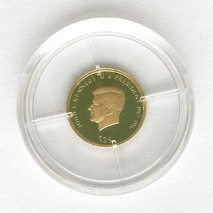 Republic of Liberia 25 Dollars Feingold 9999 - John F. Kennedy