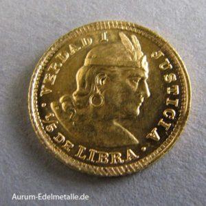 Peru 1_5 Libra Gold 1898-1969