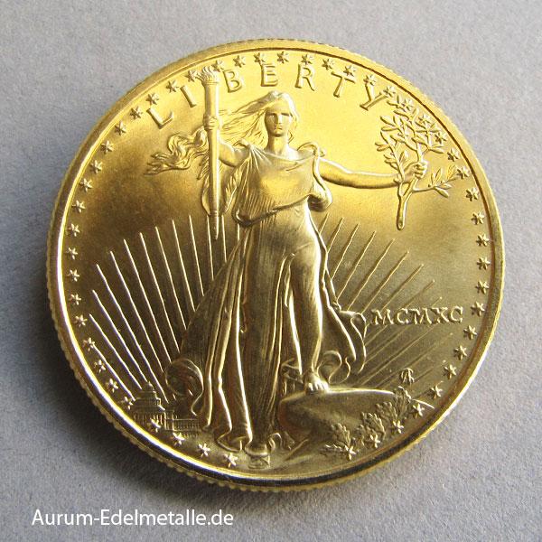 Usa American Eagle Goldmünze 12 Oz Aurum Edelmetallshop