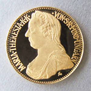 Maria Theresia Taler Gold